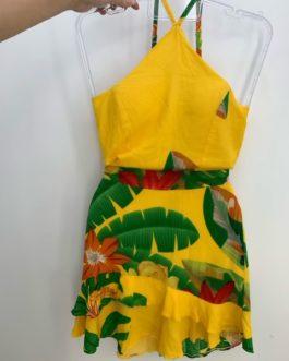 Vestido Alça