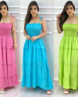 Vestido lastex colors